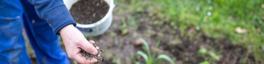 Garten duengen