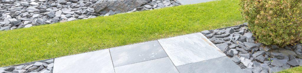 Gartengestaltung mit Steinen
